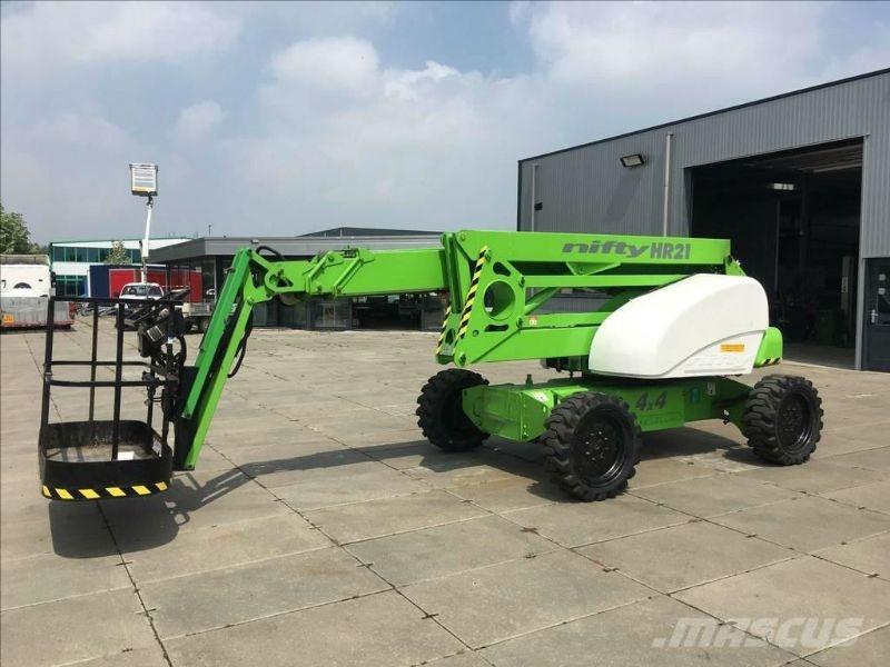 NiftyLift HR21 - Boomlift 21m